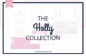 The Holly Collection - Real Estate Branding Bundle for Women
