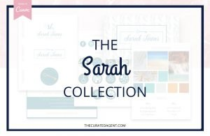 The Sarah Collection - Real Estate Branding Bundle for Women