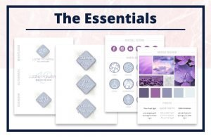 The Lizzie Collection - The Essentials - Real Estate Branding Bundle for Women