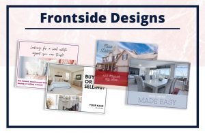 15 Unique Real Estate Postcards - Editable Canva Templates