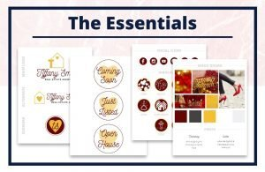 The Tiffany Collection - The Essentials - Real Estate Branding Bundle for Women