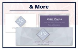 The Lizzie Collection - Business Card - Real Estate Branding Bundle for Women