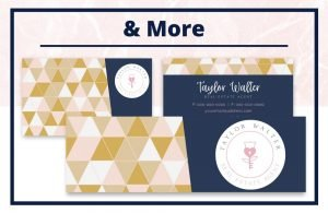 The Taylor Collection - Business Card - Real Estate Branding Bundle for Women