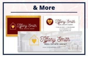The Tiffany Collection - Business Card - Real Estate Branding Bundle for Women