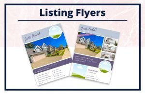 The Lizzie Collection - Flyers - Real Estate Branding Bundle for Women