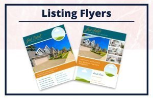 The Sarah Collection - Flyers - Real Estate Branding Bundle for Women