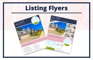 The Taylor Collection - Flyers - Real Estate Branding Bundle for Women