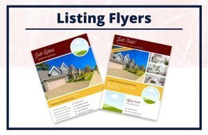 The Tiffany Collection - Flyers - Real Estate Branding Bundle for Women