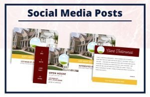 The Tiffany Collection - Social Media Posts - Real Estate Branding Bundle for Women