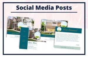The Sarah Collection - Social Media Posts - Real Estate Branding Bundle for Women