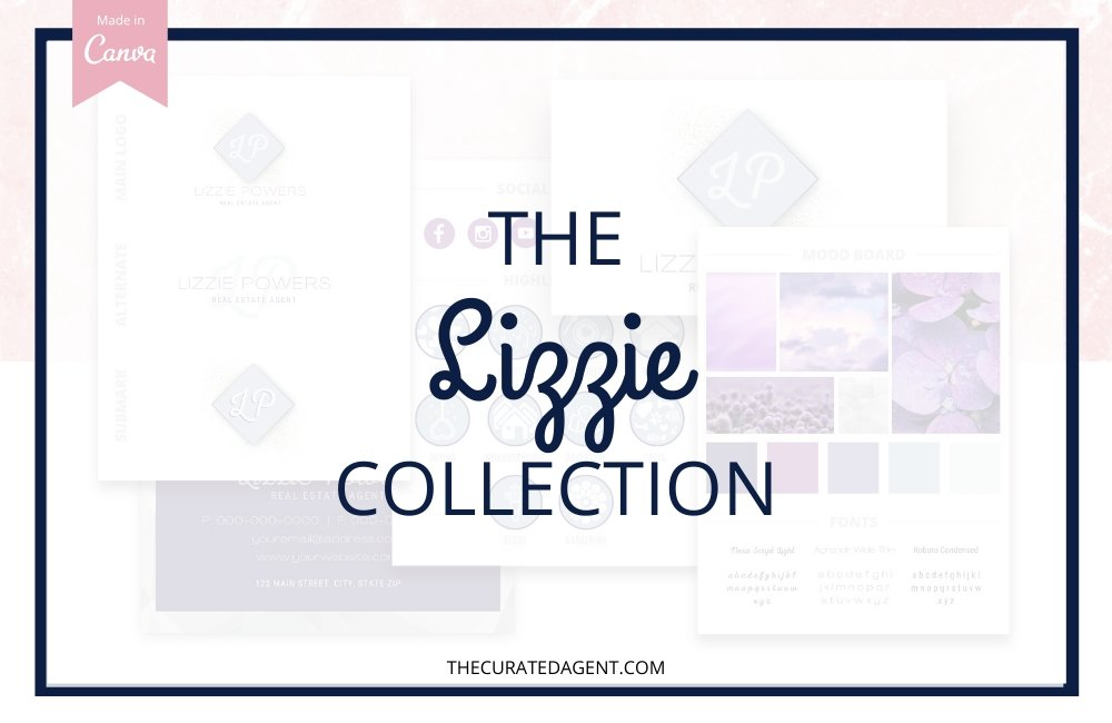 The Lizzie Collection - Real Estate Branding Bundle for Women