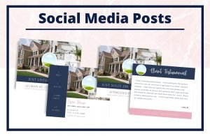 The Taylor Collection - Social Media Posts - Real Estate Branding Bundle for Women