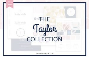 The Taylor Collection - Real Estate Branding Bundle for Women